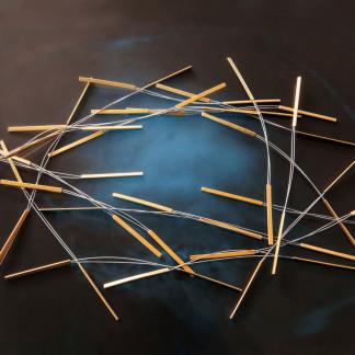 hrenkette kaufen Schmuck von Goldschmiedin klein 324x324 - Bandkette aus Feinsilber