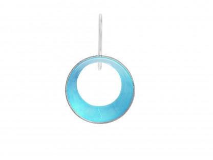 """10 Design Schmuck aus Emaille Ohrhänger Lichtung Silber Aquamarin 416x312 - Ohrhänger """"Lichtung"""" mit farbiger Emaille (Farbauswahl)"""
