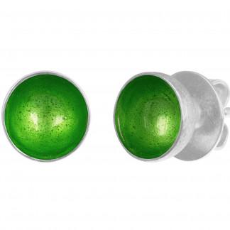 8 Design Schmuck aus Emaille Ohrstecker Schale Grasgrün Silber 324x324 - CLAP: Ohrhänger (Farbauswahl)