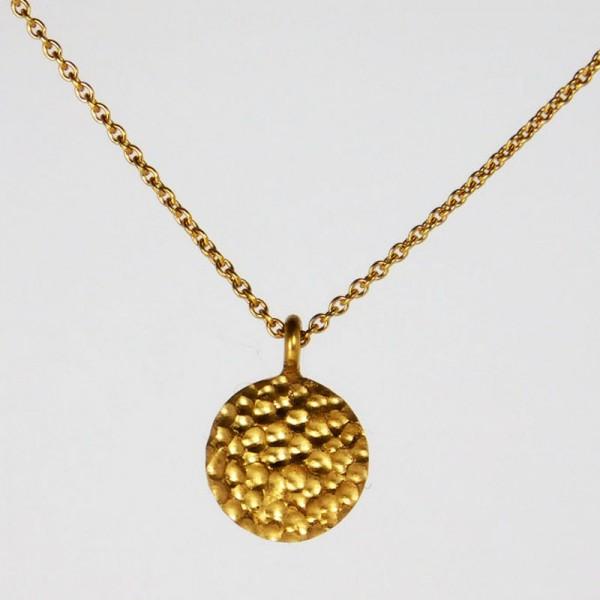 Anhänger Mond mit Kette in Gold 1 600x600 - Anhänger Mond mit Kette in Gold