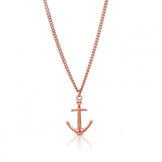 Anker Halskette aus Edelstahl in Rosegold 324x324 - Anker-Halskette KATLA aus Edelstahl roségold