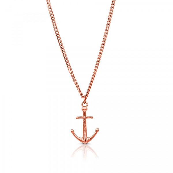 Anker Halskette aus Edelstahl in Rosegold 600x600 - Anker-Halskette KATLA aus Edelstahl roségold