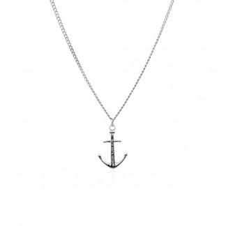 Anker Halskette aus Edelstahl in Silber 324x324 - Anker-Halskette MEYLA aus Edelstahl silber
