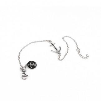 Ankerkette Armband mit Anker in Silber Edelstahl 324x324 - Anker Armkette EVOLET silber
