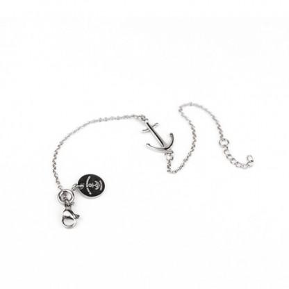 Ankerkette Armband mit Anker in Silber Edelstahl 416x416 - Anker Armkette EVOLET silber