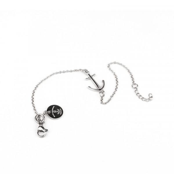 Ankerkette Armband mit Anker in Silber Edelstahl 600x600 - Anker Armkette EVOLET silber