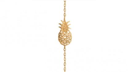 Armbaendchen Ananas gold 416x234 - Armband Ananas Gold