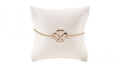 Armbaendchen Klee gold 416x234 - Armband Klee Gold