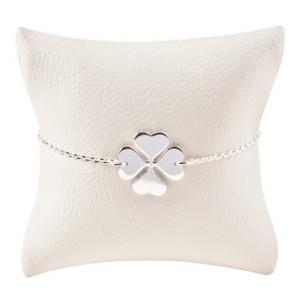 Armbaendchen Klee silber 300x300 - Armband Klee Silber