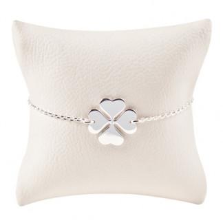 Armbaendchen Klee silber 324x324 - Armband Klee Silber