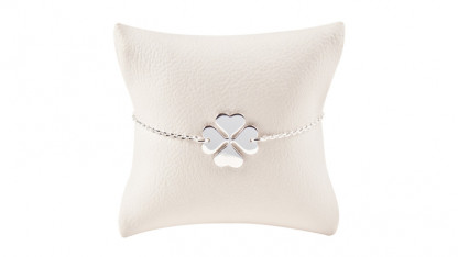Armbaendchen Klee silber 416x234 - Armband Klee Silber
