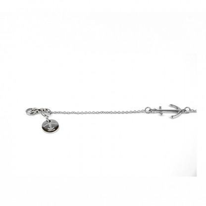 Armband Ankerkette aus Edelstahl in Silber 416x416 - Anker Armkette EVOLET silber
