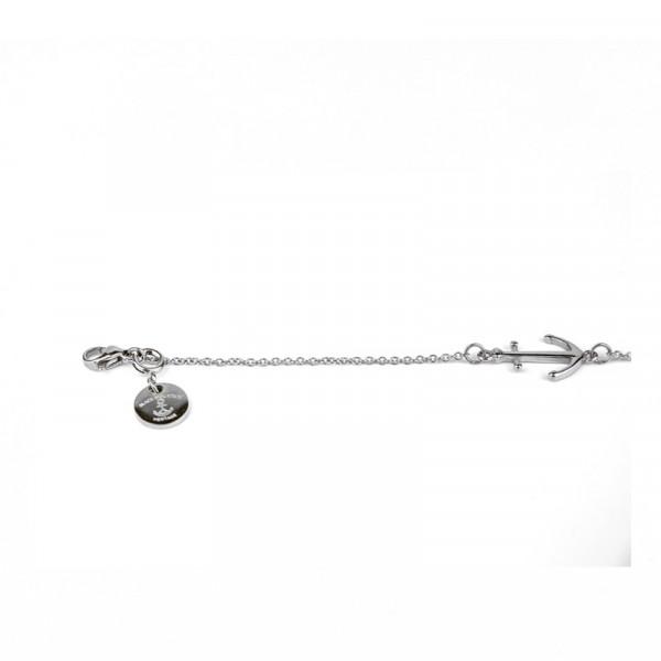 Armband Ankerkette aus Edelstahl in Silber 600x600 - Anker Armkette EVOLET silber