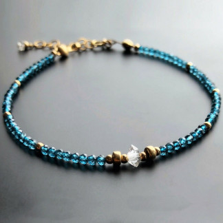 Armband mit Blautopas kaufen