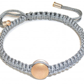 "Armband mit Gold und Brillant Manihi 324x324 - Armband ""Manihi"" mit Gold-Element und Brillant"