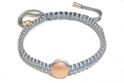 "Armband mit Gold und Brillant Manihi 416x280 - Armband ""Manihi"" mit Gold-Element und Brillant"