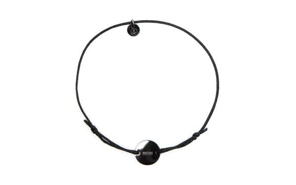 Armband mit Token MOIN schwarz schwarz bird 600x375 - Token Armband MOIN in schwarz