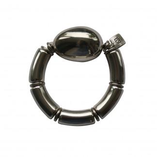 Armband mit silbernen Boegen und einer silbernen Olive scaled 324x324 - Armband mit Bögen und großer Olive