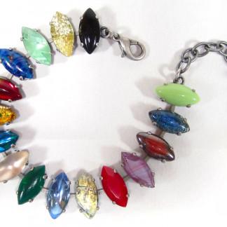 Armband vintage multicolor Armketten 324x324 - Armband pacific opal