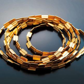 Bandkette kaufen Schmuck von Goldschmiedin gepraegt 324x324 - Bandkette aus Feinsilber
