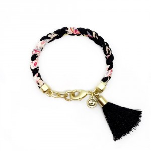 Beatrix (Gold Black Tassel)