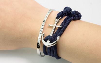 Beispiel Armreif LIBUN und armband mit anker Rackham silber 416x260 - Armreif NSE silber aus Edelstahl