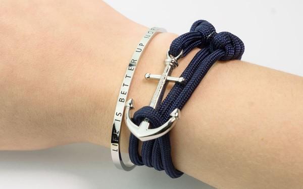 Beispiel Armreif LIBUN und armband mit anker Rackham silber 600x375 - Armreif LIBUN gold aus Edelstahl
