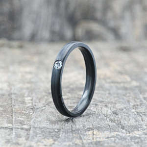 Carbon-Ring 'Rasilis et Lapis' 3mm