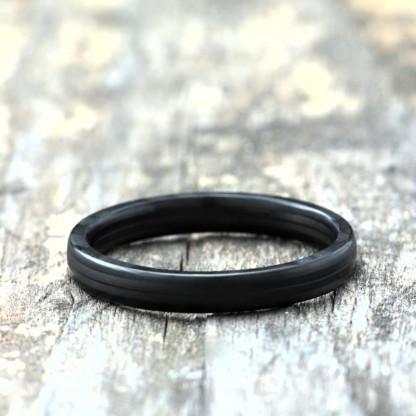 Carbon Schmuck Rasilis 3mm liegend 416x416 - Carbon-Ring 'Rasilis' 3mm