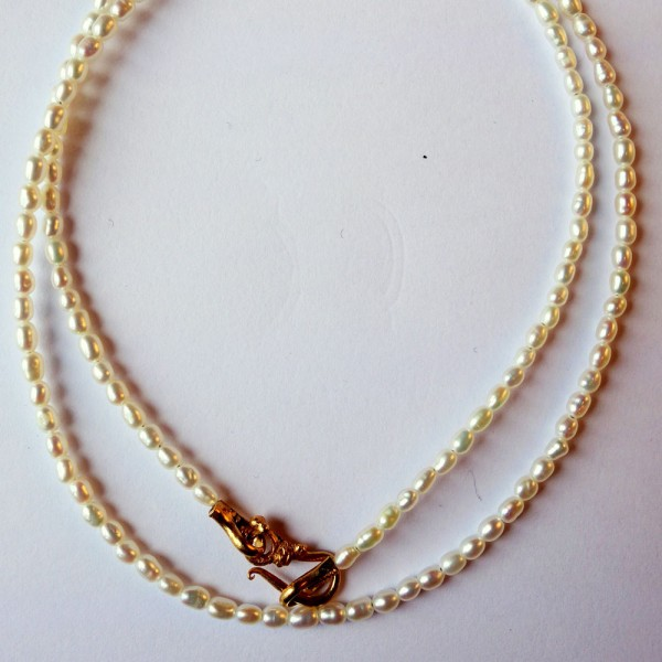 Collier Perle 600x600 - Collier Perle 42 oder 45cm