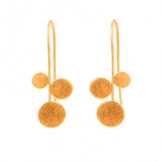 """Design Ohrhänger panicula simpel silber gold plattiert 3er 324x324 - Ohrhänger """"panicula"""" 3er"""