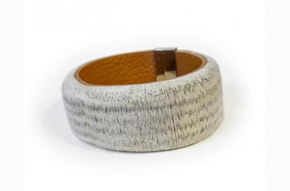 Designschmuck Armband Velvet Book Rindsleder-Papier