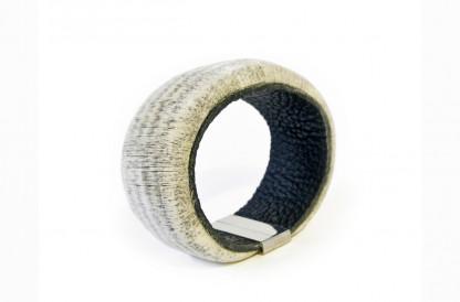 Designschmuck Armband Velvet Rindsleder-Papier