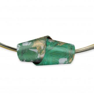 Designschmuck Halskette kaufen großes Collier Large TO014 324x324 - Abschnittskette aus feinen Bögen