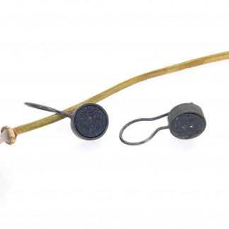 Designschmuck kaufen 18 Ohrhänger kristalisierter Achat 324x324 - Ohrhänger mit kristallisiertem Achat