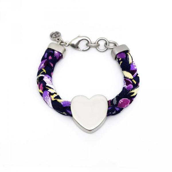 Frida Heart Silver2 600x600 - Heart Frida (Silver)