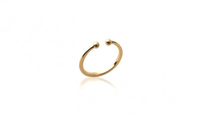 Handschmuck Ring Kugel gold 416x234 - Ring Kugel Gold