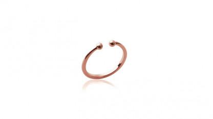 Handschmuck Ring Kugel rose 416x234 - Ring Kugel Rosé
