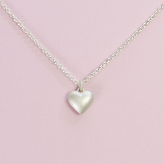 Herzanhänger aus massivem Silber online kaufen