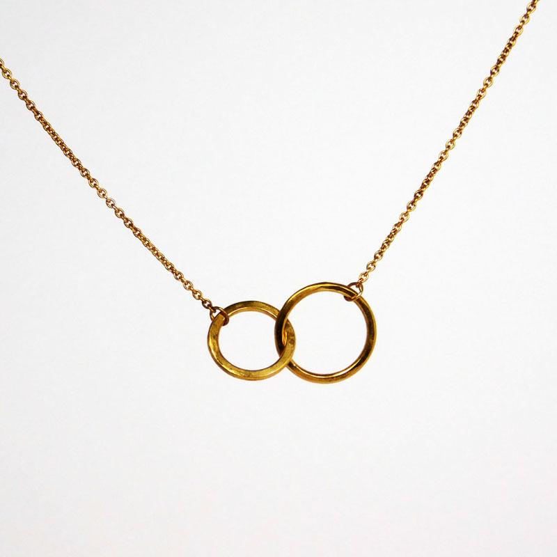 1dcae4db72f18 Kette Ring im Ring Gold ♥ Dinky Donkey