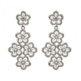 Ohrhänger Blossom Lace aus Silber 080 324x324 - Ohrhänger Blossom Lace