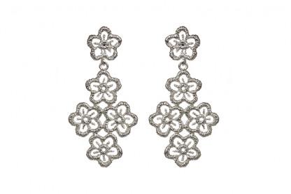 Ohrhänger Blossom Lace aus Silber 080 416x277 - Ohrhänger Blossom Lace