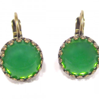 Ohrhänger grün opal Ohrhänger 324x324 - Ohrhänger bronze crystal aurora borealis