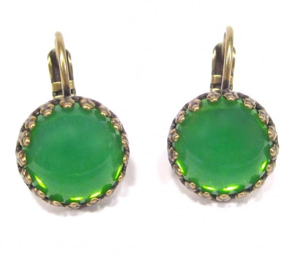 Ohrhänger grün opal Ohrhänger 600x523 - Ohrhänger grün opal