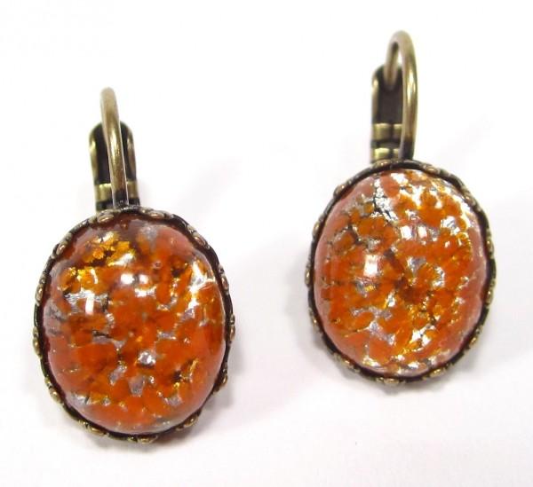 Ohrhänger orange silver Ohrhänger 600x549 - Ohrhänger orange silver