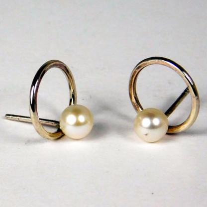 Ohrringe Perlenring Silber 1 416x416 - Ohrringe Perlenring Silber