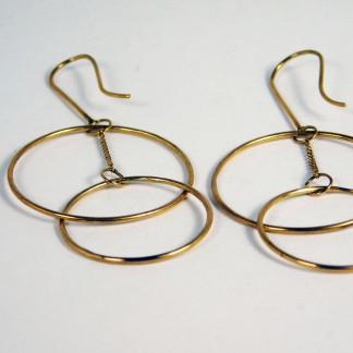 Ohrringe Ring Schwebend Gold 2 324x324 - Ohrringe Ring Schwebend Gold