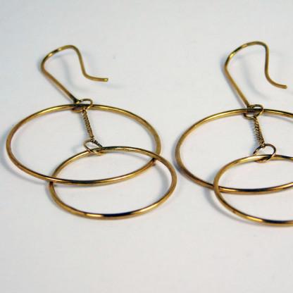 Ohrringe Ring Schwebend Gold 2 416x416 - Ohrringe Ring Schwebend Gold