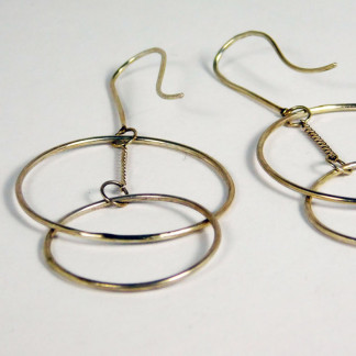 Ohrringe Ring Schwebend Silber 1 324x324 - Ohrringe Ring Schwebend Silber