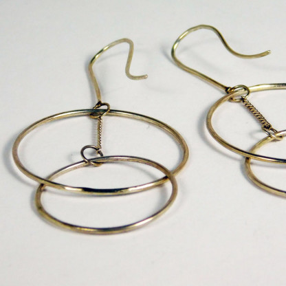 Ohrringe Ring Schwebend Silber 1 416x416 - Ohrringe Ring Schwebend Silber